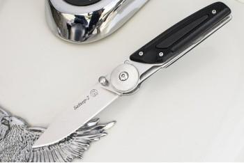 Нож НСК Байкер-2  AUS-8 пластик (эластрон)