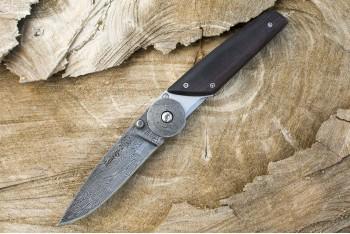 Нож НСК Байкер-2 дамаск граб