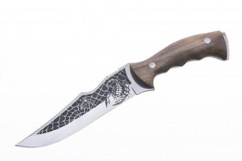 Нож Скорпион малый AUS-8 художественно-оформленный