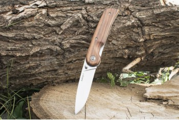 Нож НСК Байкер-1 AUS-8 дерево