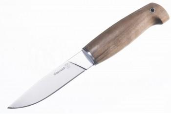 Нож Финский AUS-8 дерево