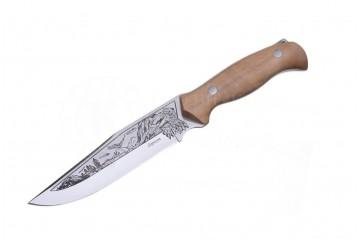 Нож Беркут AUS-8 дерево