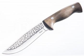 Нож Фазан AUS-8 дерево