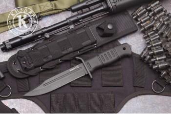 Нож Витязь Т AUS-8 MOLLE черный