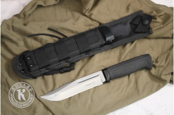 Нож Колыма-1 AUS-8 MOLLE black