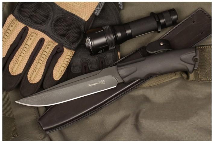 Нож Коршун-2 AUS-8 эластрон