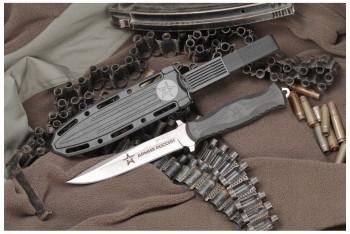 Нож НР-18 с символикой Армия России AUS-8 эластрон