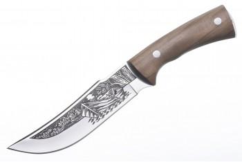 Нож Рыбак-2 AUS-8 художественно-оформленный