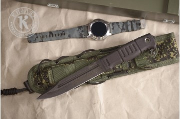 Нож Витязь AUS-8 эластрон MOLLE oliva в подарочной коробке