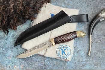 Нож Хищник (У-7) унцукульская насечка