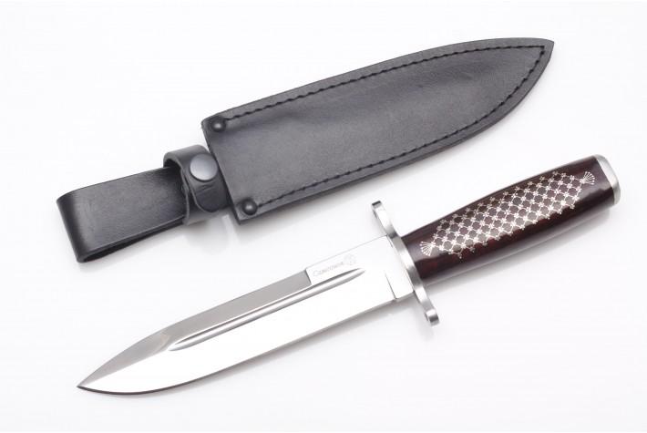 Нож Самсонов AUS-8 унцукульская насечка
