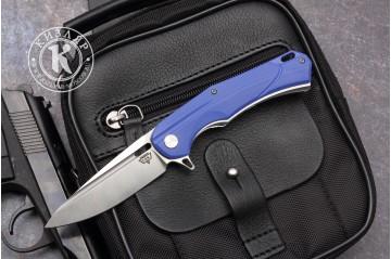 Нож складной А 01 D2 G10 синий