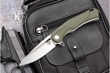 Нож складной А 01 D2 G10 зеленый