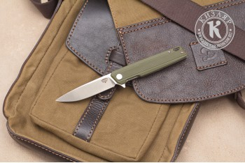 Нож складной Чила D2 G10 олива