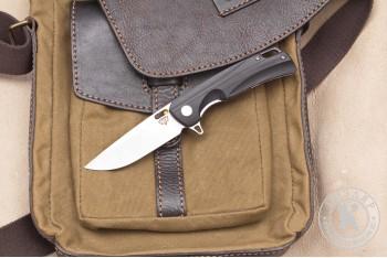 Нож складной Нус D2 G10 черный