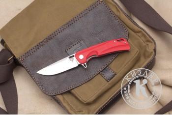 Нож складной Нус D2 G10 красный