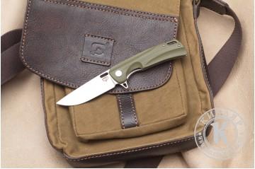 Нож складной Нус D2 G10 олива