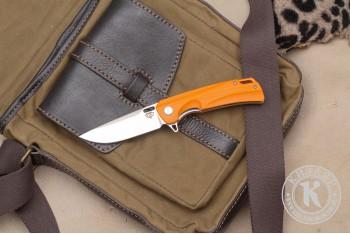 Нож складной Нус D2 G10 оранжевый