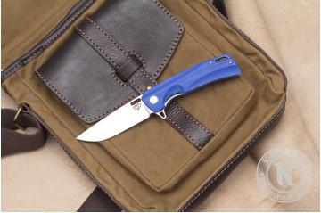 Нож складной Нус D2 G10 синий