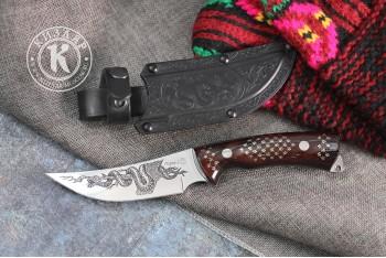 Нож Гюрза-2 AUS-8 унцукульская насечка